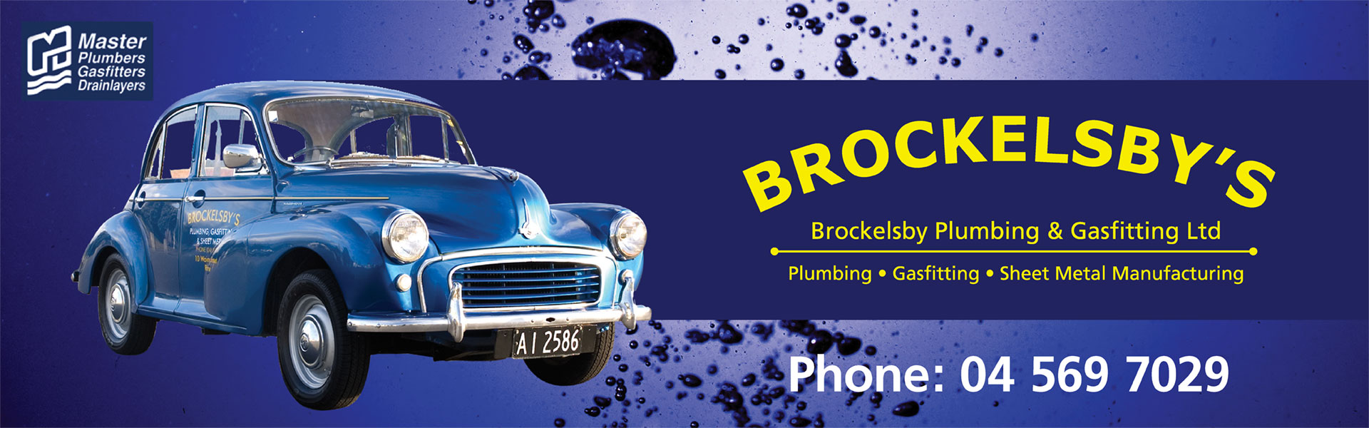 Brockelsby Plumbing Wellington NZ